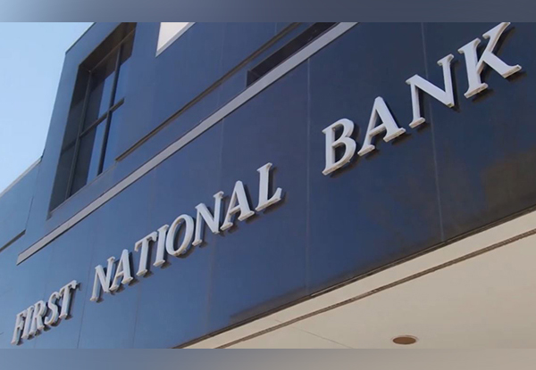 First National Bank Office
